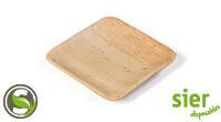 Palm bord vierkant 11 cm, verpakt per 20 stuks