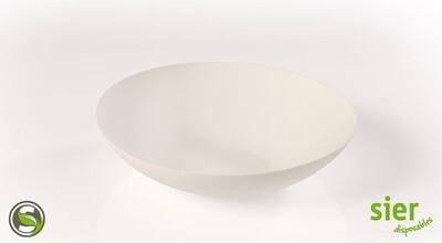 Bagastro diep bord rond 20cm, 20 stuks