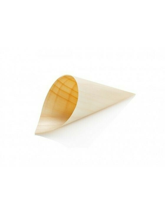 Houtpapier cone 12cm Verpakt per 1000 stuks