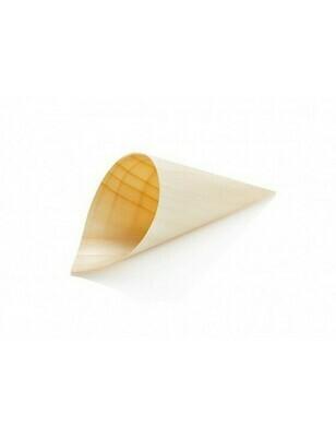 Houtpapier cone 12cm Verpakt per 50 stuks