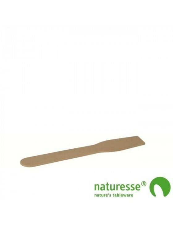 FSC® houten ijslepel 96mm Verpakt per 100 stuks