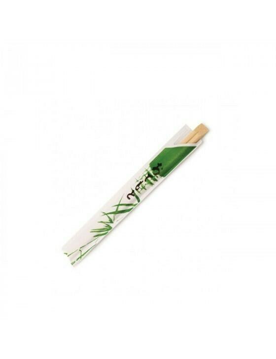 Bamboe eetstokjes 200mm in sachet Verpakt per 1000 stuks