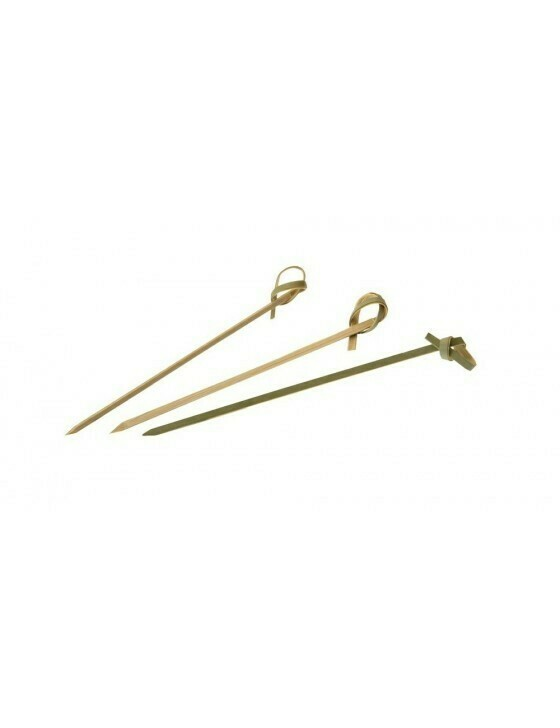 Bamboe knoopprikker 120 mm verpakt per 100 stuks