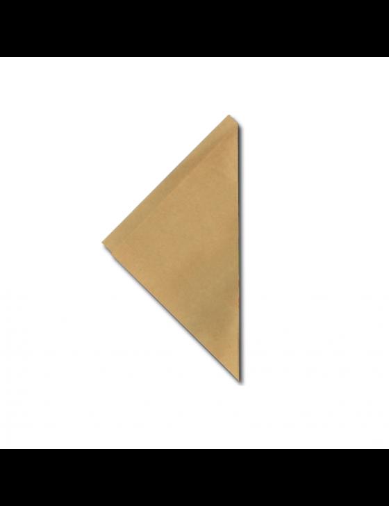 FSC® papieren frietzak K14 bruin, verpakt per 5kg/2075 stuks