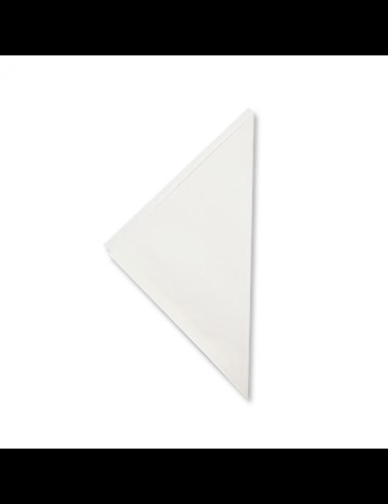 Eco frietzak wit K17 Verpakt per 1500 stuks