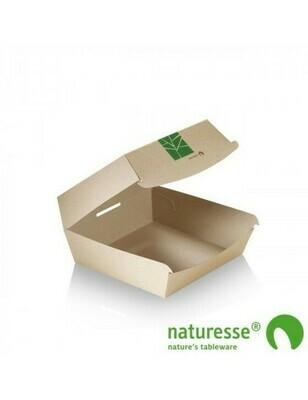 Paperwise hamburgerbox 120x120x70mm Verpakt per 800 stuks