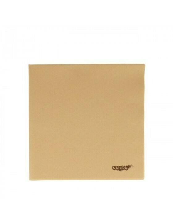 Servet natural 40x40cm ¼ vouw airlaid Verpakt per 700 stuks