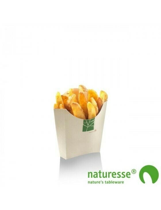 Paperwise frites scoop cup 90x100x40mm Verpakt per 100 stuks