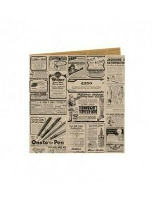 Vetvrij snackzakje bruin krant 16x16,5cm Verpakt per 500 stuks