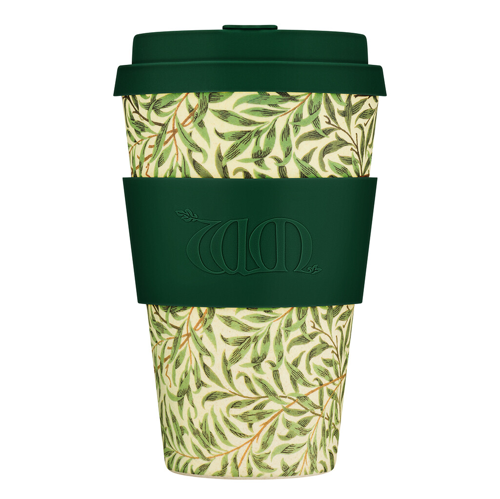 "Ecoffee cup ""Willow"" 14oz/400ml William Morris collectie"