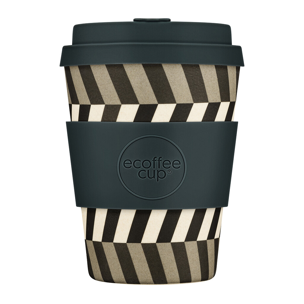 """Ecoffee cup """"Look into my eyes"""" 12oz/340ml"""