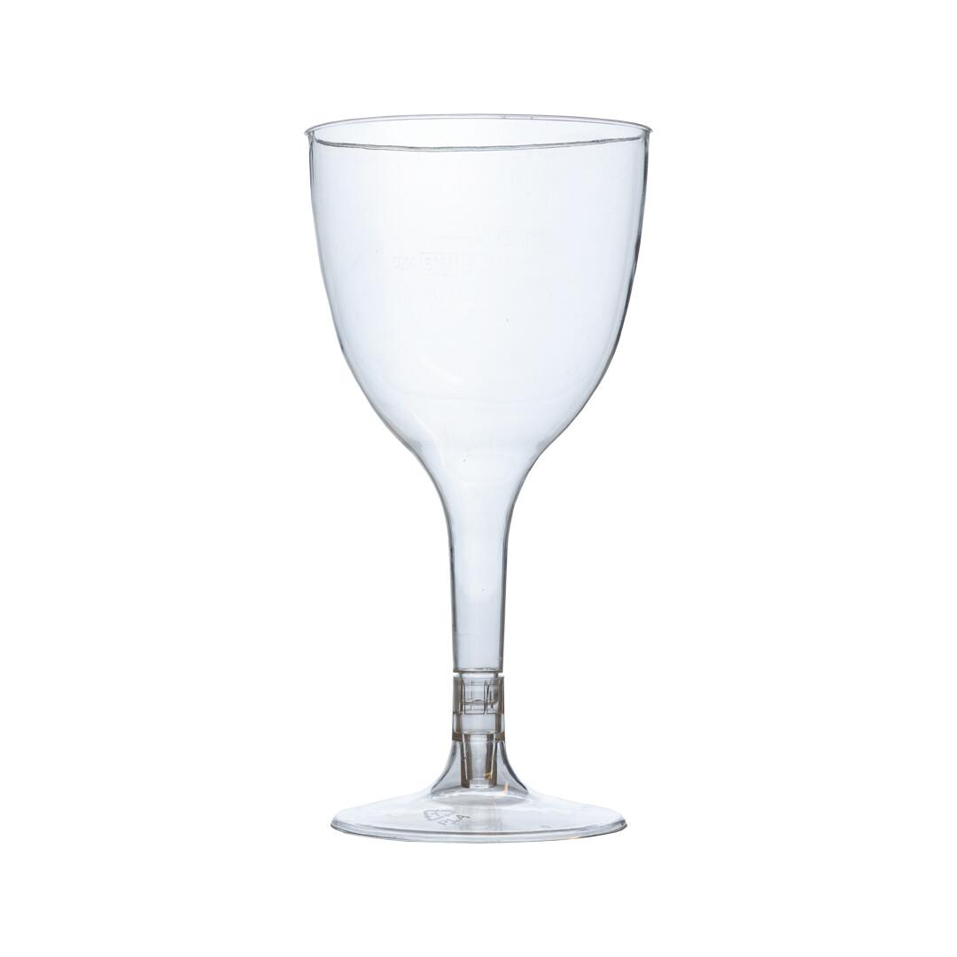 PLA wijnglas 100ml, verpakt per 21 stuks