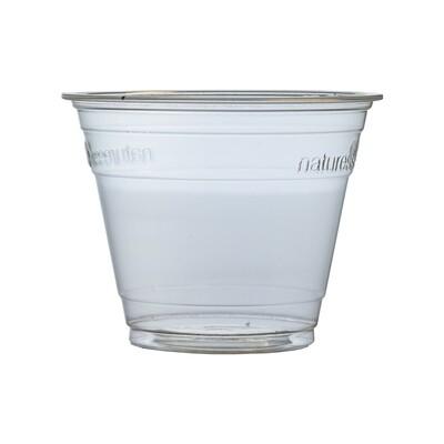 PLA dessert cup 250ml/96mm Ø, verpakt per 50 stuks