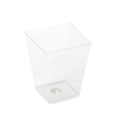 PLA amusebakje Kova 160ml 6x6x7,2cm, verpakt per 50 stuks