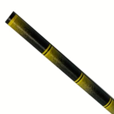 Kağıt payet 6x200mm bambu siyah, 5000 adet başına paketlenmiş