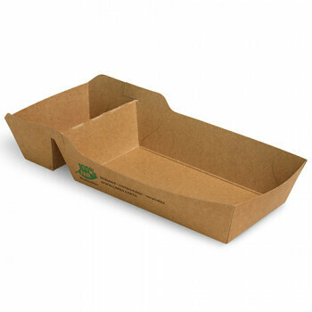 Snackbakje A9+1 (A22) karton (100% FAIR) | 12 cm x 7 cm x 3,5 cm, verpakt per 960 stuks