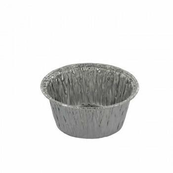Aluminium bakken   70ml- Ø78mm, Verpakt per 1000 stuks