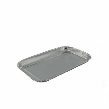 Aluminium schalen | 95ml- 15,3x9,3cm, verpakt per 1000 stuks