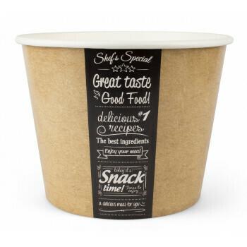 Buckets, Good Food | 130oz, 3800ml. verpakt per 150 stuks
