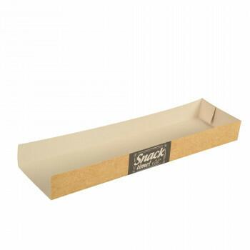 Paninibakje karton (Good Food) 28,5x7,5x3cm, verpakt per 900 stuks