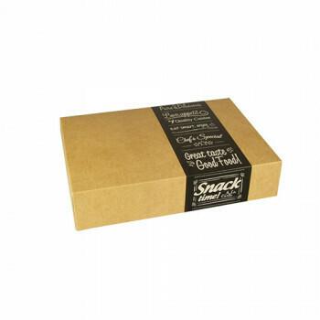 Cateringdozen klein (Good Food) | 35,7cm x 24,7cm x 8 cm,Verpakt per 100 stuks