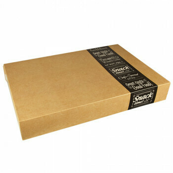 Cateringdozen groot (Good Food)   55,7 cm x 37,6 cm x 8 cm,Verpakt per 40 stuks
