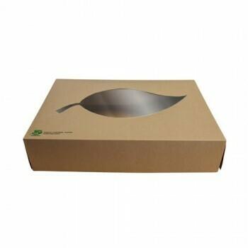 Cateringdozen, maat XL (100% FAIR), Karton | 557x376x80mm,Verpakt per 40 stuks