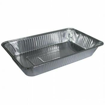 Gastronoom tray, Aluminium | 52.5x32.5x8cm, verpakt per 15 stuks