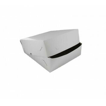 Zwanenhalsdoos, Wit Karton | 35x35cm, verpakt per 25 stuks