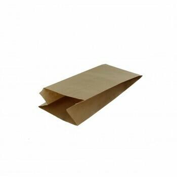 Inpakzak, Kraftapier   3 pond- 11x8x39cm, verpakt per 9 kg