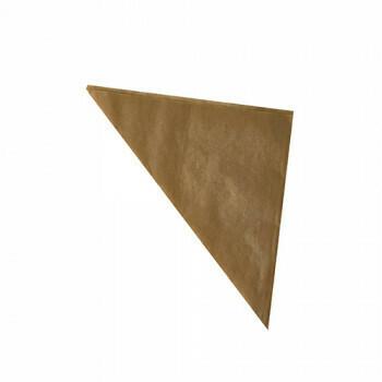 1000 Puntzakken, perkament papier 27 cm x 19 cm x 19 cm bruin inhoud 125 gr, verpakt per 1000 stuks