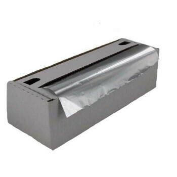 Aluminiumfolie | 30cmx250m-11my, verpakt per 6 rollen