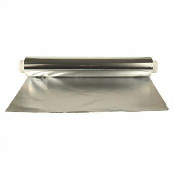 Aluminiumfolie 150 m x 45 cm los, verpakt per 4 rollen
