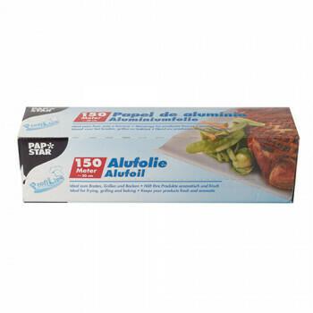Folia aluminiowa 150 mx 30 cm w pudełku dozownika, pakowana na rolki 6
