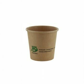 Duurzame sauscups / sausbakjes, Karton (100%FAIR)  90ml, verpakt per 2000 stuks