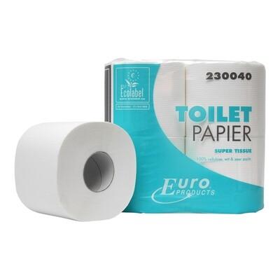 230040 Euro tissue cellulose toiletpapier, pak van 40 rollen