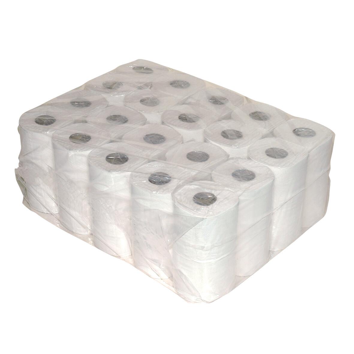238240 Euro tissue gerecycled 2-laags toiletpapier, pak van 40 rollen