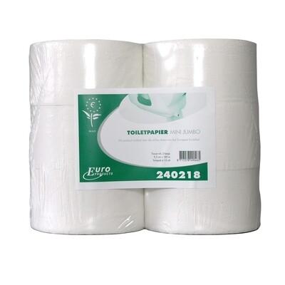 240218 Euro mini jumbo tissue, pak van 12 rollen
