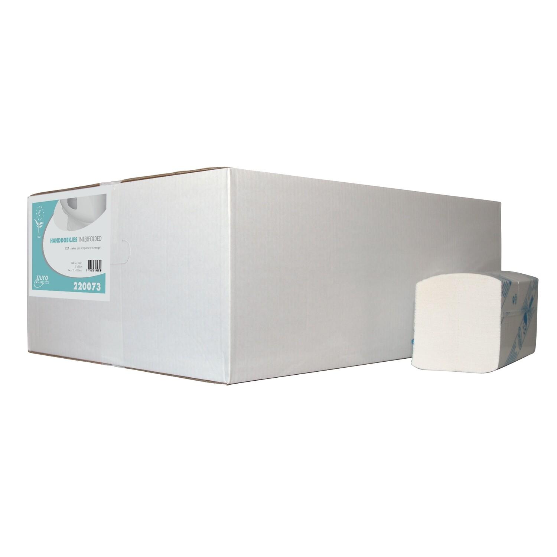 220073 Euro Interfold, cellulose, verpakt per 20 bundels