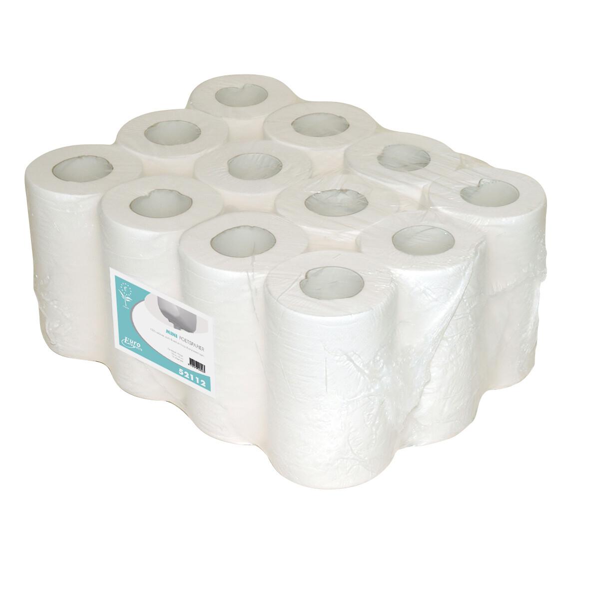 P52112 Euro cellulose met koker, verpakt per 12 rollen