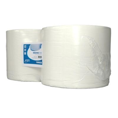 100038 Euro cellulose industriepapier, verpakt per 2 rollen