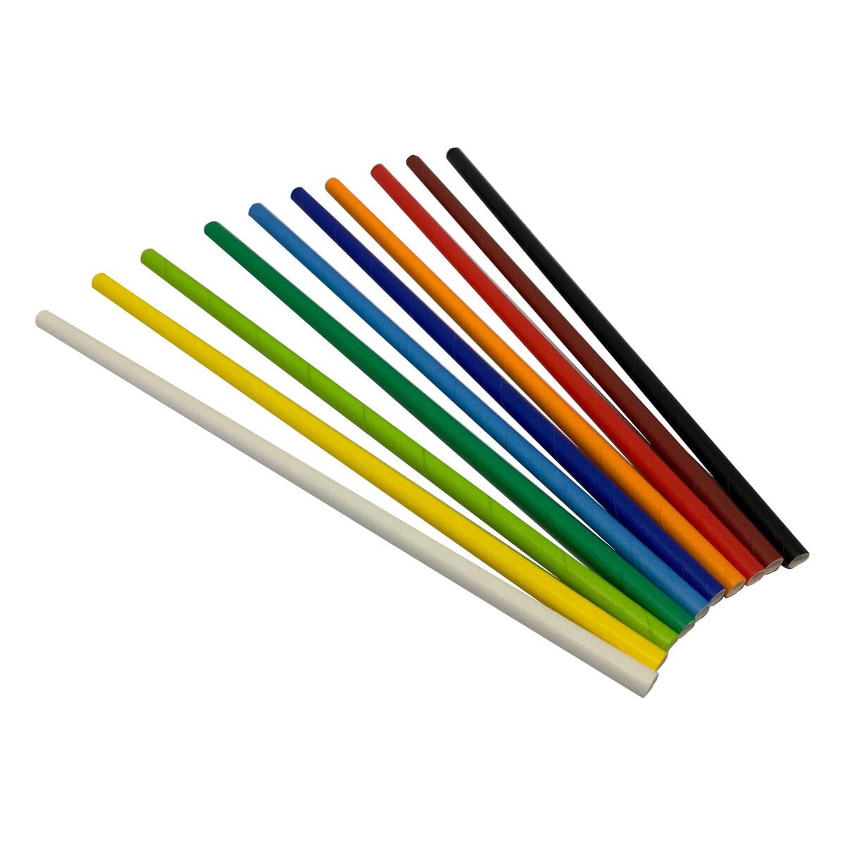"Papieren rietjes ""Rainbow"""