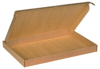 Brievenbusdoos A4 31x21x3x3cm, verpakt per 50 stuks