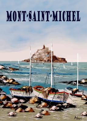 LE MONT SAINT MICHEL  -