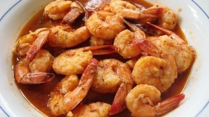 Louisiana Shrimp w/French Baguette