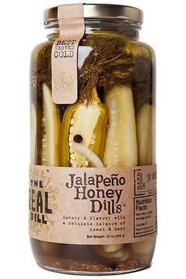 The Real Dill: Jalapeno Honey Dill
