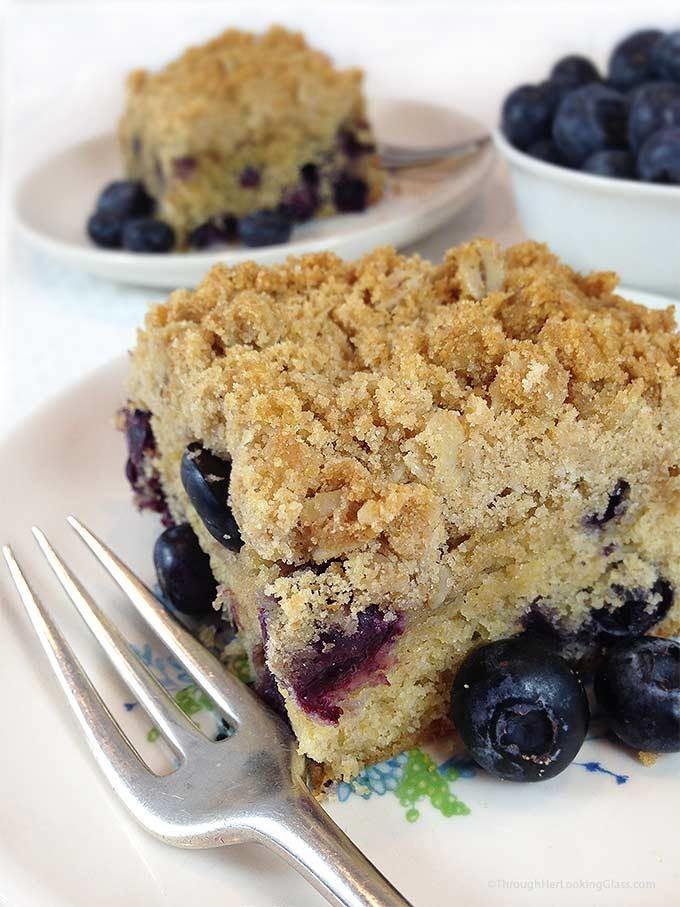 Blueberry Coffee Cake (Serves 4-6)