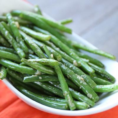 Garlicky Green Beans - GF