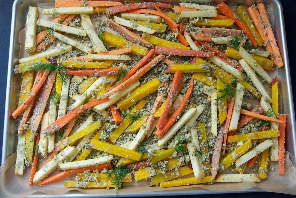 Assorted Veggie Fries