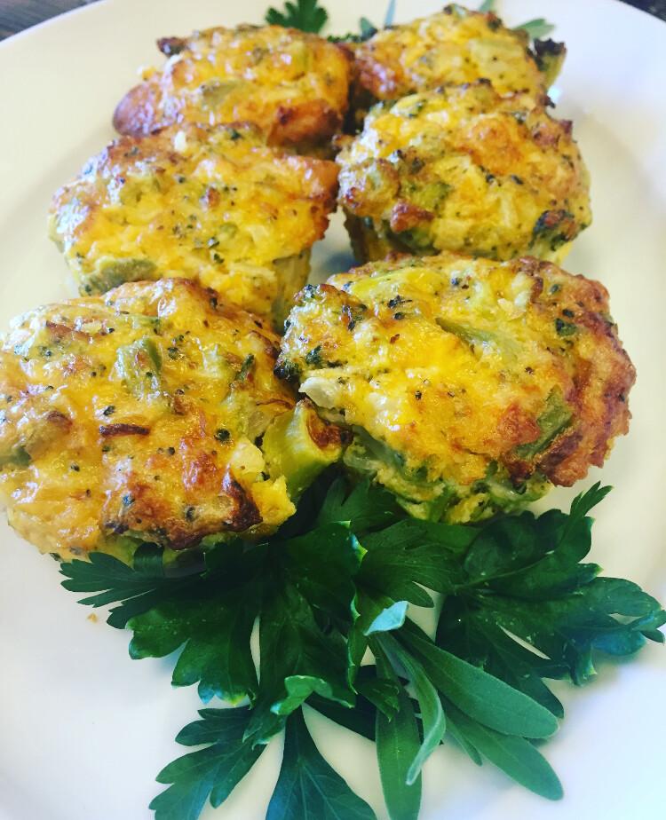 Cheddar Broccoli Bites